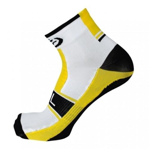 AKILLE. Bicycle line κάλτσες καλοκαιρινές κίτρινες.