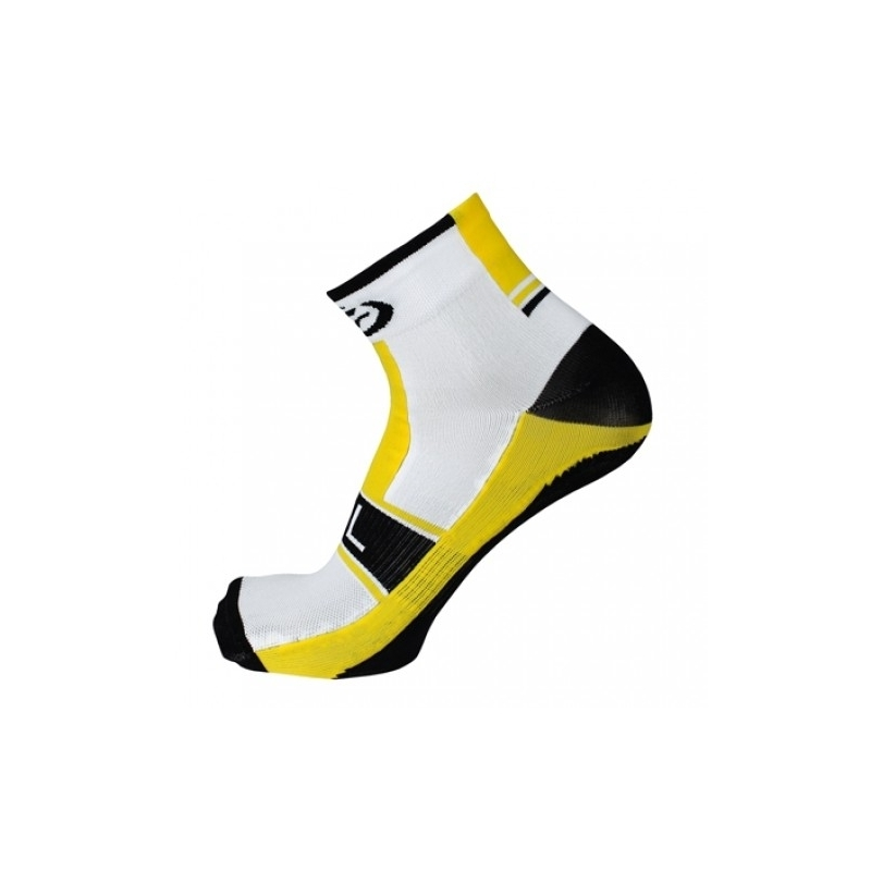 AKILLE. Bicycle line κάλτσες καλοκαιρινές κίτρινες. Dalavikas bikes