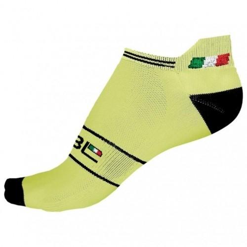 KASPER. Bicycle Line κάλτσες κίτρινες