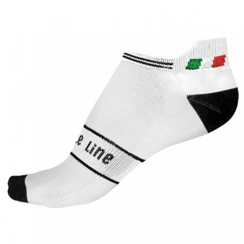 KASPER. Bicycle Line κάλτσες λευκές.