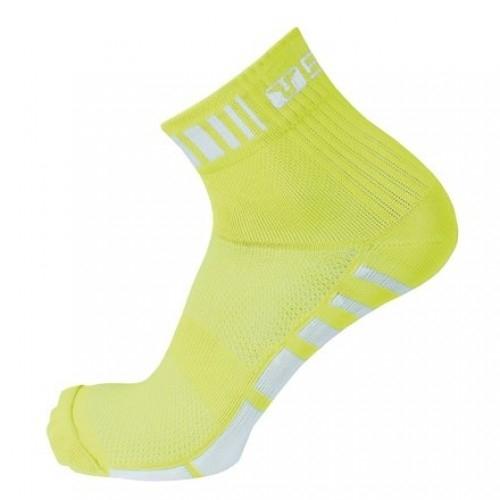 LASER.Bicycle Line κάλτσες κίτρινες