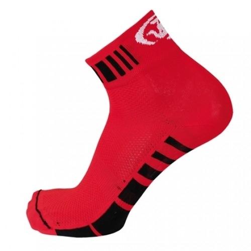 LASER.Bicycle Line κάλτσες κόκκινες.
