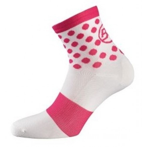 RISPOSTA. Bicycle line κάλτσες καλοκαιρινές άσπρο/φούξια.