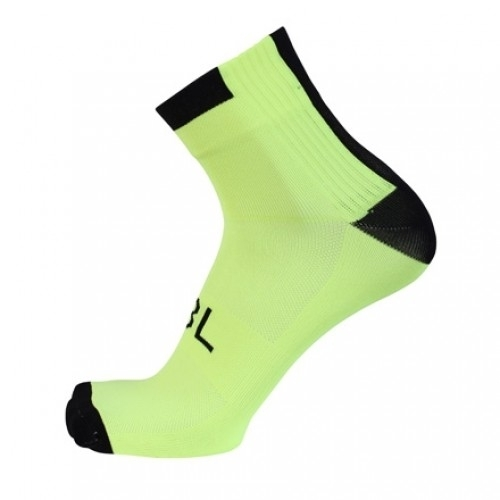 TANDEM. Bicycle line κάλτσες καλοκαιρινές Fluo κίτρινες.