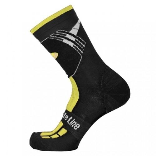 Χειμερινές κάλτσες Bicycle Line Shaun Κίτρινες Δαλαβίκας bikes