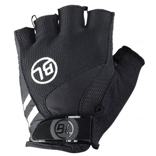 PASSISTA. Bicycle Line γάντια κοντά μαύρο.