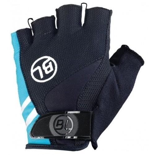 PASSISTA. Bicycle Line γάντια κοντά μαύρο/μπλέ. Δαλαβίκας bikes