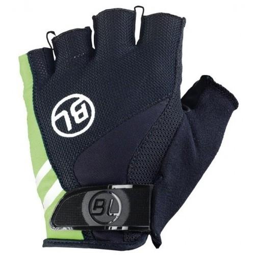 PASSISTA. Bicycle Line γάντια κοντά μαύρο/πράσινο. Δαλαβίκας bikes