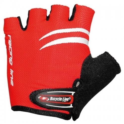 RACING. Bicycle Line παιδικά γάντια - Κόκκινο
