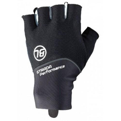 STRADA. Bicycle Line γάντια κοντά μαύρο. Δαλαβίκας bikes