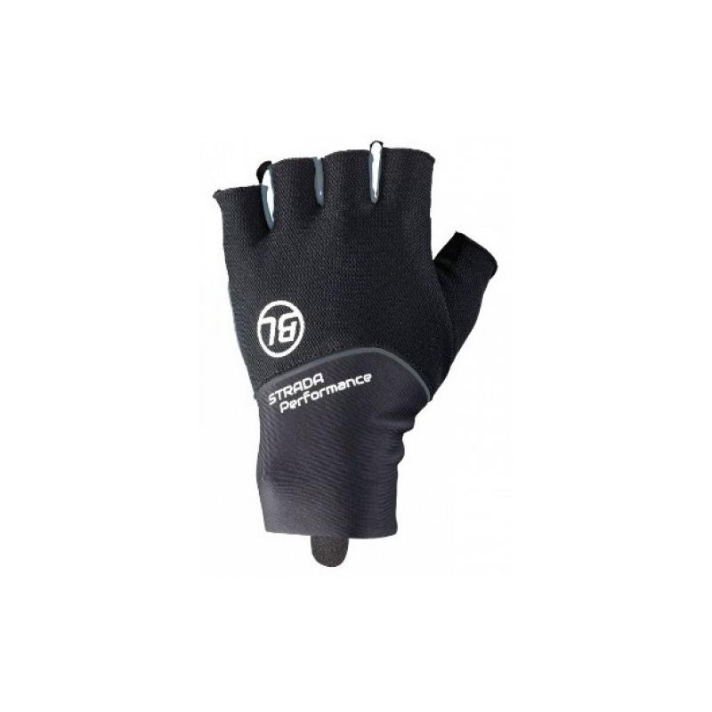 STRADA. Bicycle Line γάντια κοντά μαύρο. Dalavikas bikes