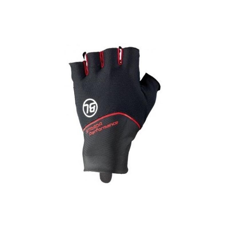 STRADA. Bicycle Line γάντια κοντά μαύρο κόκκινο. - Δαλαβίκας bikes 991010dfa80