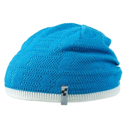 Cube Beanie Logo LTD 11644 - Blue 'n' White