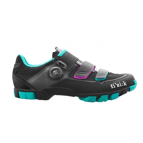 Παπούτσια Fizik M6B DONNA Black / Emerald Green