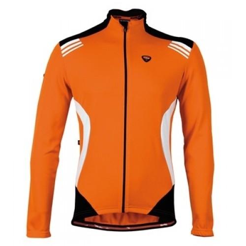 Μπλούζα με μακρύ μανίκι Bicycle Line. IMPETO πορτοκαλί