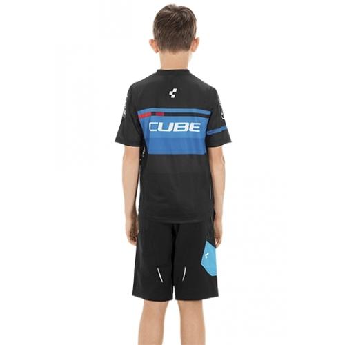 Μπλούζα με κοντό μανίκι Cube Junior Teamline Jersey S/S - 10990 Δαλαβίκας bikes