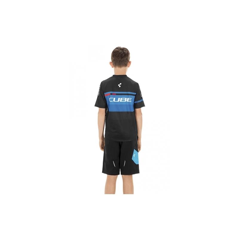Μπλούζα με κοντό μανίκι Cube Junior Teamline Jersey S/S - 10990 Dalavikas bikes
