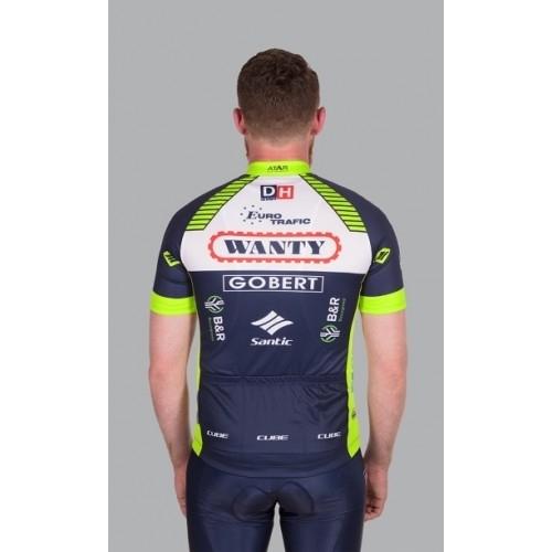 Μπλούζα με κοντό μανίκι Cube Team Wanty Jersey S/S - 11003 Δαλαβίκας bikes