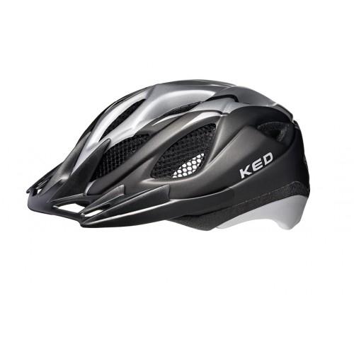 Κράνος Ked Tronus . Black - Silver Δαλαβίκας bikes