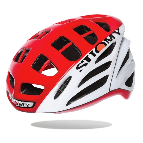 Κράνος Suomy Gun Wind HV White/Red Δαλαβίκας bikes