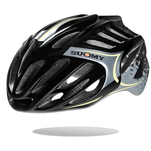 Κράνος Suomy Timeless All - In Star Black/Yellow Δαλαβίκας bikes