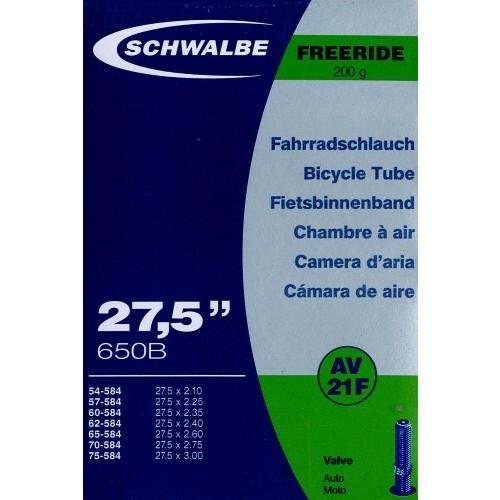 Αεροθάλαμος Schwalbe 27,5x2,10-3,00 Freeride AV 21F Δαλαβίκας bikes