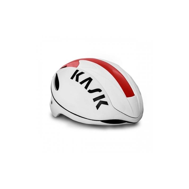 Κράνος δρόμου Kask Infinity white-red Dalavikas bikes