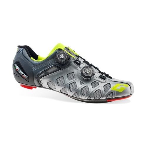 Παπούτσια Δρόμου Gaerne Carbon G.STILO + Summer Road Shoe Silver Δαλαβίκας bikes