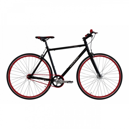 Ποδήλατο Fixedgear Leader Black red