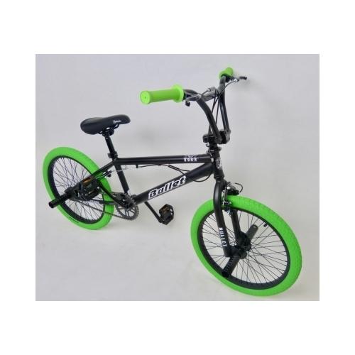 Ποδήλατο ΒΜΧ Bullet Bora μαύρο πράσινο