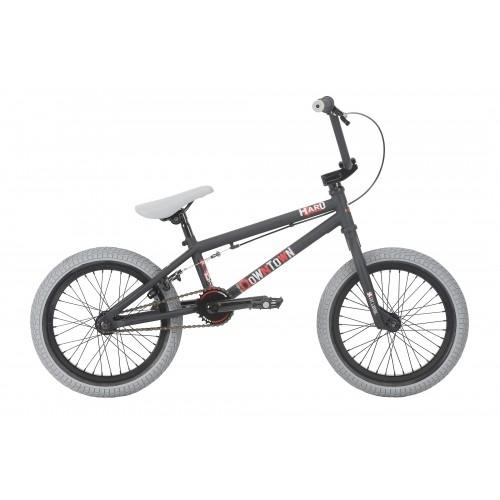 """Haro BMX Downtown 16"""" 2018 - Matte Black Δαλαβίκας bikes"""