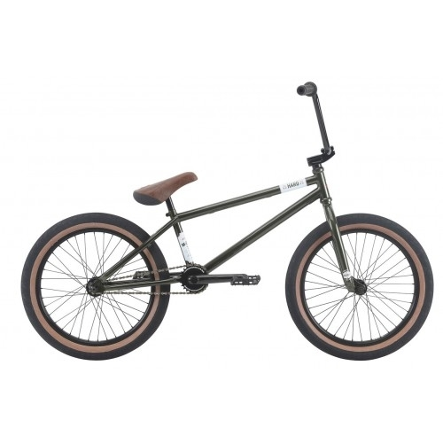 """Haro BMX Midway 20"""" 2018 - Gloss Olive"""