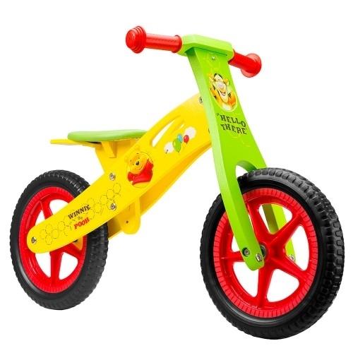 Ποδήλατο ισορροπίας Disney ξύλινο Winnie the Pooh