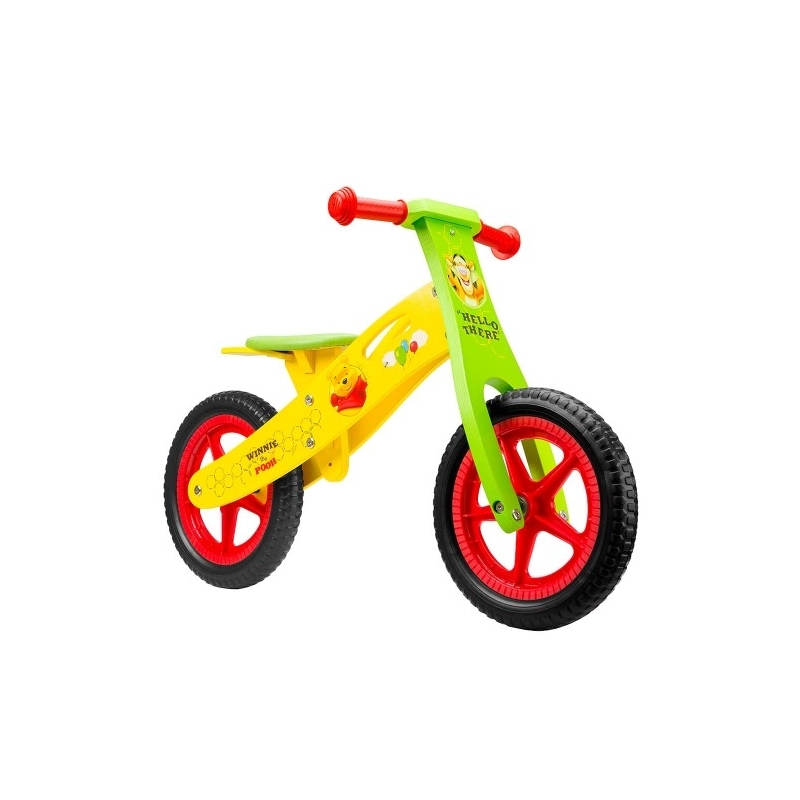 Ποδήλατο ισορροπίας Disney ξύλινο Ποδήλατο ισορροπίας Disney ξύλινο Winnie the Pooh Dalavikas bikes