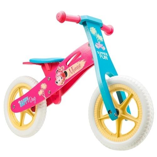 Ποδήλατο ισορροπίας Disney ξύλινο Minnie