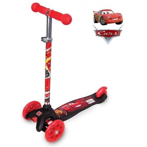 Παιδικό πατίνι (scooter) Disney cars με 3 ρόδες Δαλαβίκας bikes