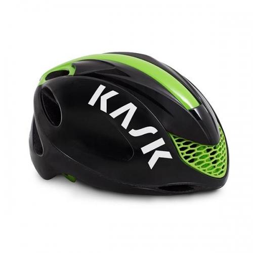 Κράνος δρόμου Kask Infinity black lime Δαλαβίκας bikes