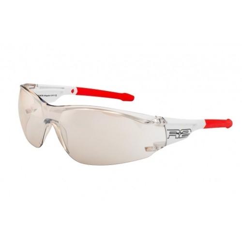 """Γυαλιά Ποδηλασίας R2 """"ALLIGATOR"""" - Άσπρο/Κόκκινο Δαλαβίκας bikes"""