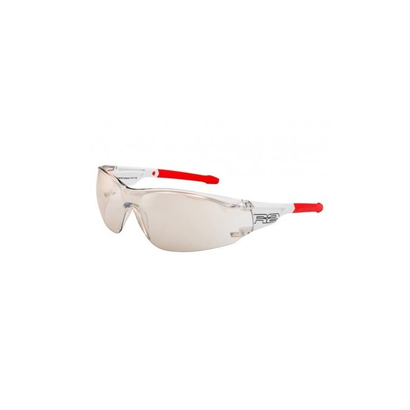 """Γυαλιά Ποδηλασίας R2 """"ALLIGATOR"""" - Άσπρο/Κόκκινο Dalavikas bikes"""