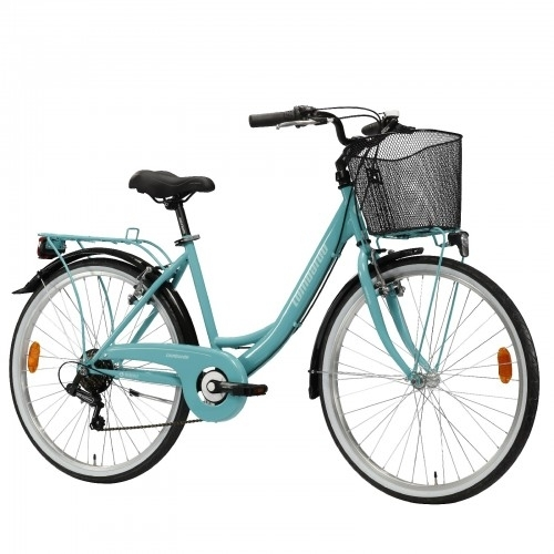 "Lombardo Rimini 26"" City 6-speed Green Tiffany Glossy"