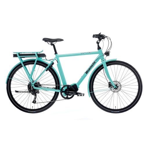 BIANCHI E-BIKE SPILLO LUXURY GENT ALTUS 9SP 2020 Δαλαβίκας bikes