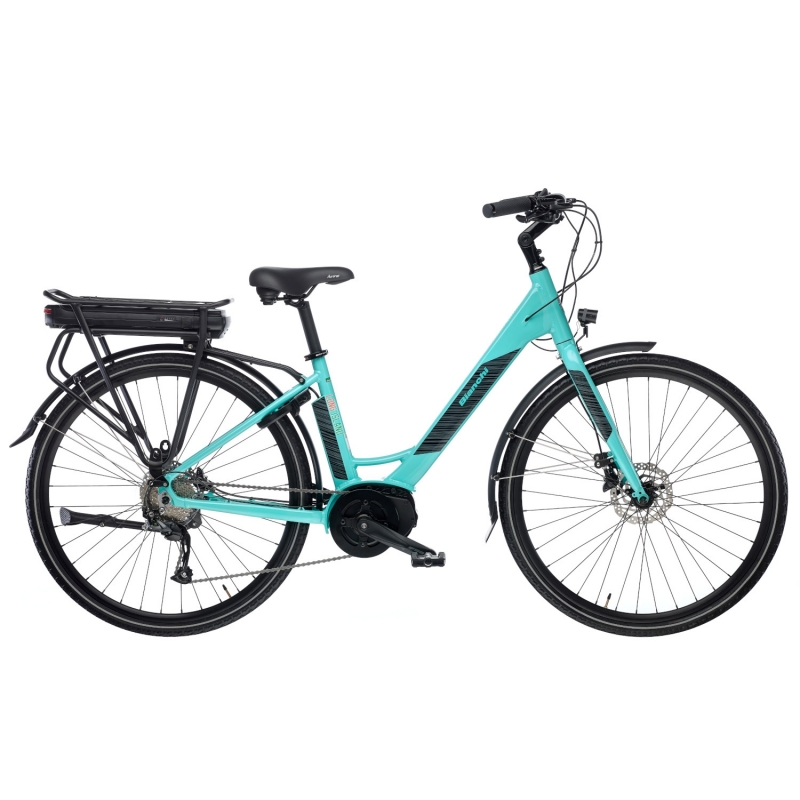 BIANCHI E-BIKE CITY LONG ISLAND ALTUS 9SP 2020 Dalavikas bikes
