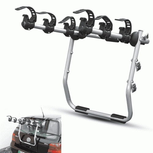Menabo Mistral Σχάρα αυτοκινήτου 3 ποδηλάτων