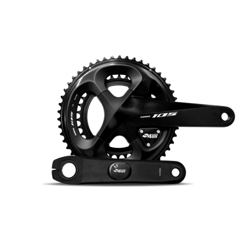 4iiii-PRECISION PRO Βατόμετρο (Dual) Ride Ready crankset- Shimano 105 Δαλαβίκας bikes