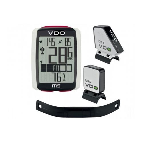 VDO M5 (WL) cadence Αύρματο Κοντέρ ποδηλάτου - παλμογράφος