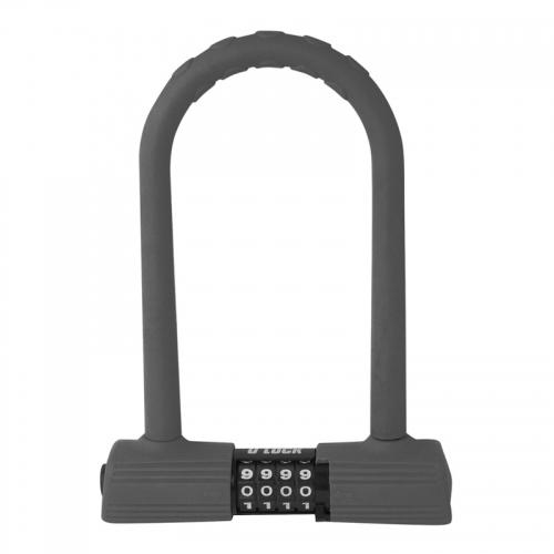 Force πέταλο 185x245mm U-Lock κλειδαριά ποδηλάτου πέταλο με συνδυασμό.