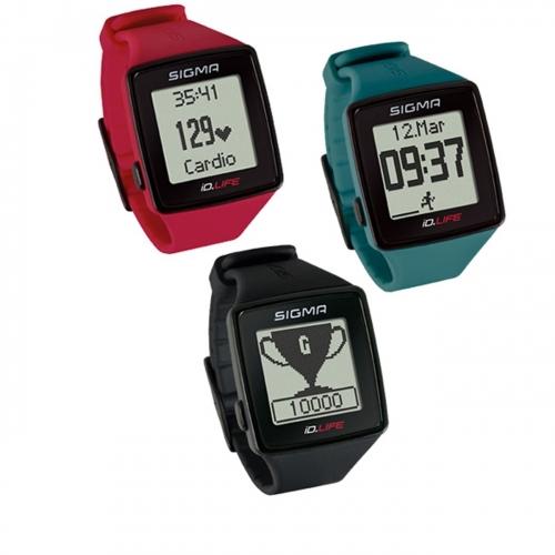 Sigma ID Life παλμογράφος, ρολόι