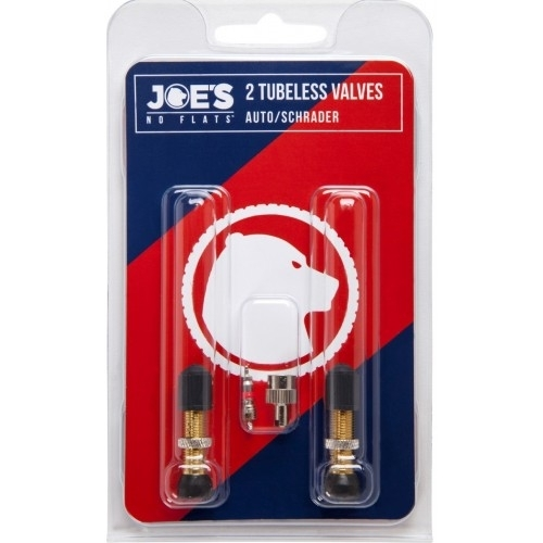 Joe's Tubeless AUTO/SCHRADER Valves (Βαλβίδες) Δαλαβίκας bikes