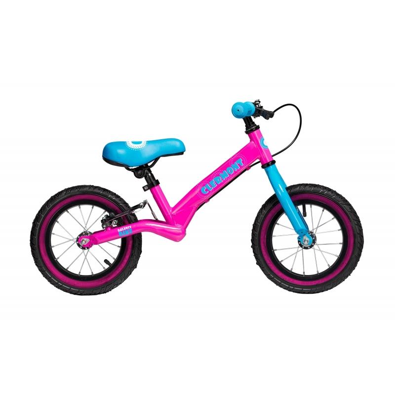 Balance bike Clermont παιδικό ποδήλατο ισορροπίας φούξια Dalavikas bikes