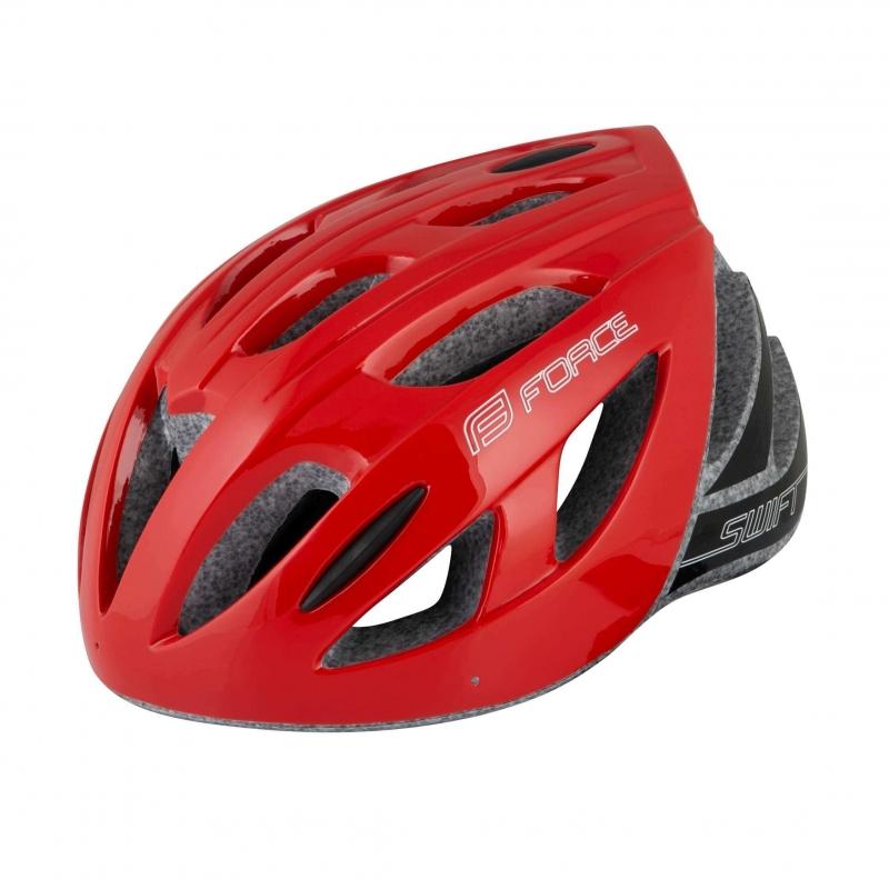 Κράνος Ενηλίκων Force Swift κόκκινο Dalavikas bikes